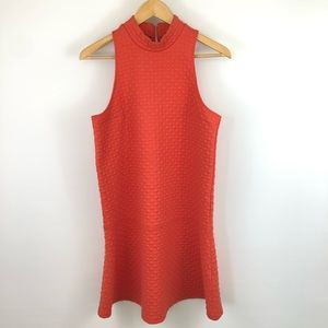 Abercrombie & Fitch | Red/Orange Quilted Dress